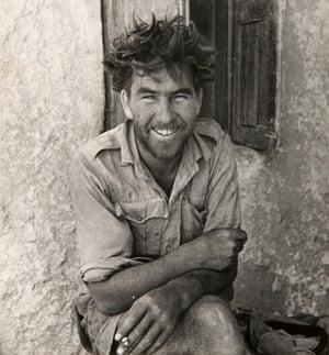 A Member of Y-Patrol of the Long-Range Desert Group, Siwa Oasis, Western Desert, Egypt, 1942