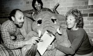 Lois Lilienstein, right, with Bram Morrison and Sharon Hampson of Sharon, Lois and Bram on The Elephant Show.