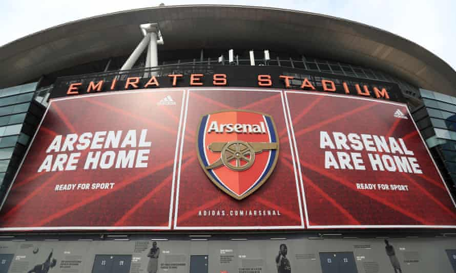 Arsenal's Emirates Stadium is set to be the first Premier League ground to welcome back fans, with 2,000 expected for the Europa League tie with Rapid Vienna on Thursday.