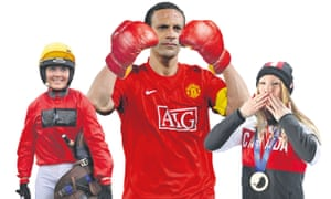 Sport changed ... Victoria Pendleton, Rio Ferdinand and Heather Moyse.