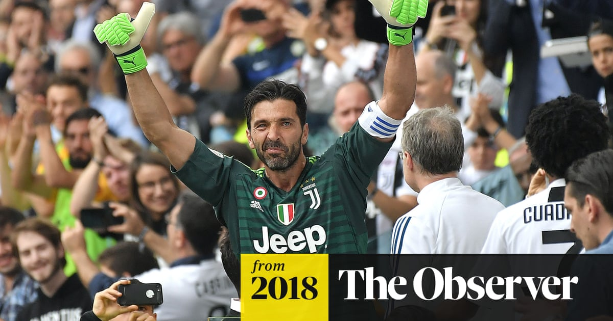 Buffon given emotional send-off by Juventus as Parma return
