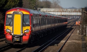 A Gatwick Express train