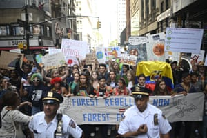 Crowds of children skipped school to join a global strike against climate change, heeding the rallying cry of teen activist Greta Thunberg and demanding adults act to stop environmental disaster. It was expected to be the biggest protest ever against the threat posed to the planet by climate change.