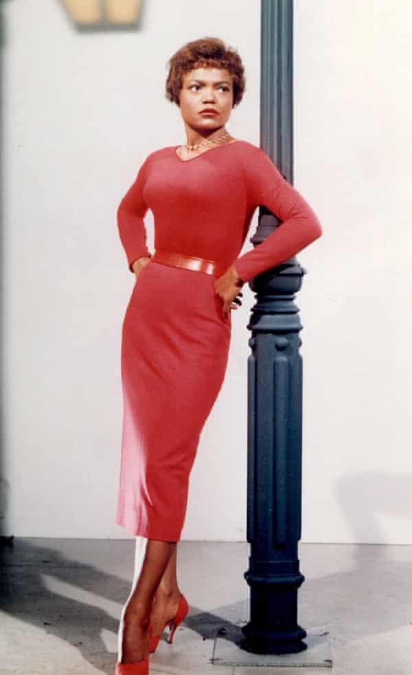 A touchstone of cheeky glamour … Eartha Kitt.