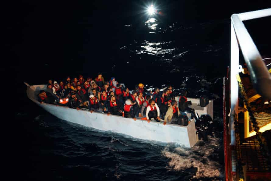 'Five rescue operations in such quick succession was extremely challenging, exhausting, and almost overwhelming' ... Sophie Weidenhiller of Sea-Eye.