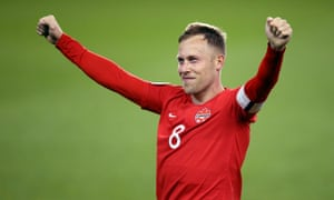 Canada's Scott Arfield celebrates at the final whistle against the US