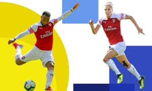 Alexandre Lacazette and Vivianne Miedema have been key to the impressive form shown by Arsenal's men's and women's teams.