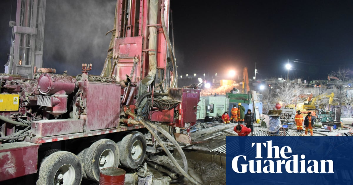 Chinese miners trapped by blast a week ago are alive – state media - the guardian
