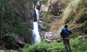 The area has plenty of waterfalls to admire.