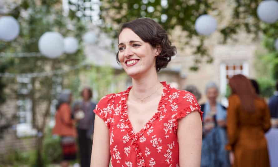 Phoebe Waller-Bridge pictured in the last episode of Fleabag.