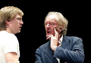 A Number, 2002Daniel Craig and Michael Gambon in A Number at the Royal Court