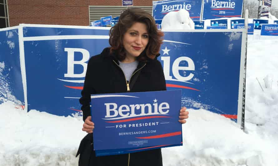 Bernie Sanders supporter Anna Mead.