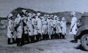 Members of Japan's Unit 731 in China in 1940