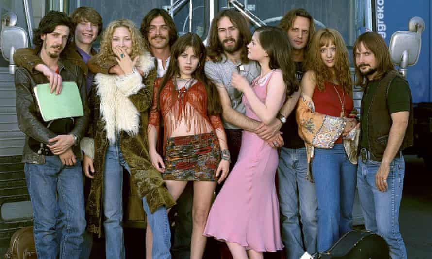 The cast of Almost Famous.