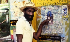 Another day at the office for Lee Perry in Rudeboy.