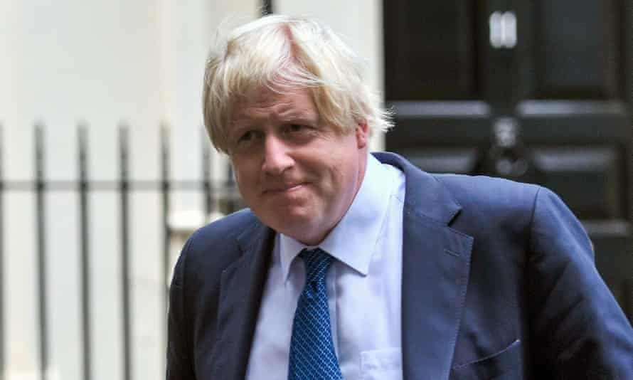 Parsons Green incident Foreign Secretary Boris Johnson leaving Downing Street, London, as a manhunt was launched after a bomb was detonated in a suspected terror attack on a packed London Underground train. PRESS ASSOCIATION Photo. Picture date: Friday September 15, 2017. See PA story TRANSPORT Explosion.