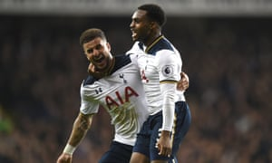 Tottenham Hotspur's Kyle Walker, left, and Danny Rose are part of the new breed of attacking full-backs