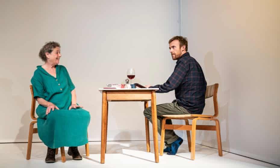Linda Bassett and John Heffernan in Caryl Churchill's What If Only.