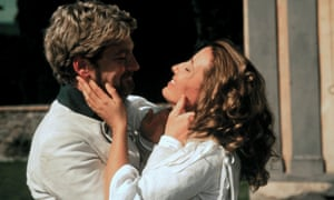 Sparring partners: Kenneth Branagh as Benedick and Emma Thompson as Beatrice in the 1993 film version of Much Ado About Nothing.