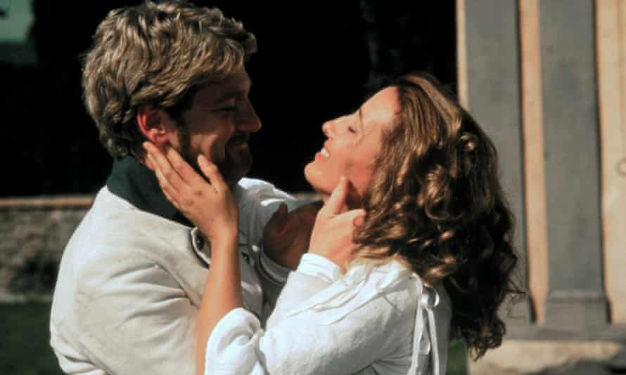 'A bit of trash talk. Now kiss me' ... Kenneth Branagh as Benedick and Emma Thompson as Beatrice in Much Ado About Nothing. Photograph: Allstar/BBC