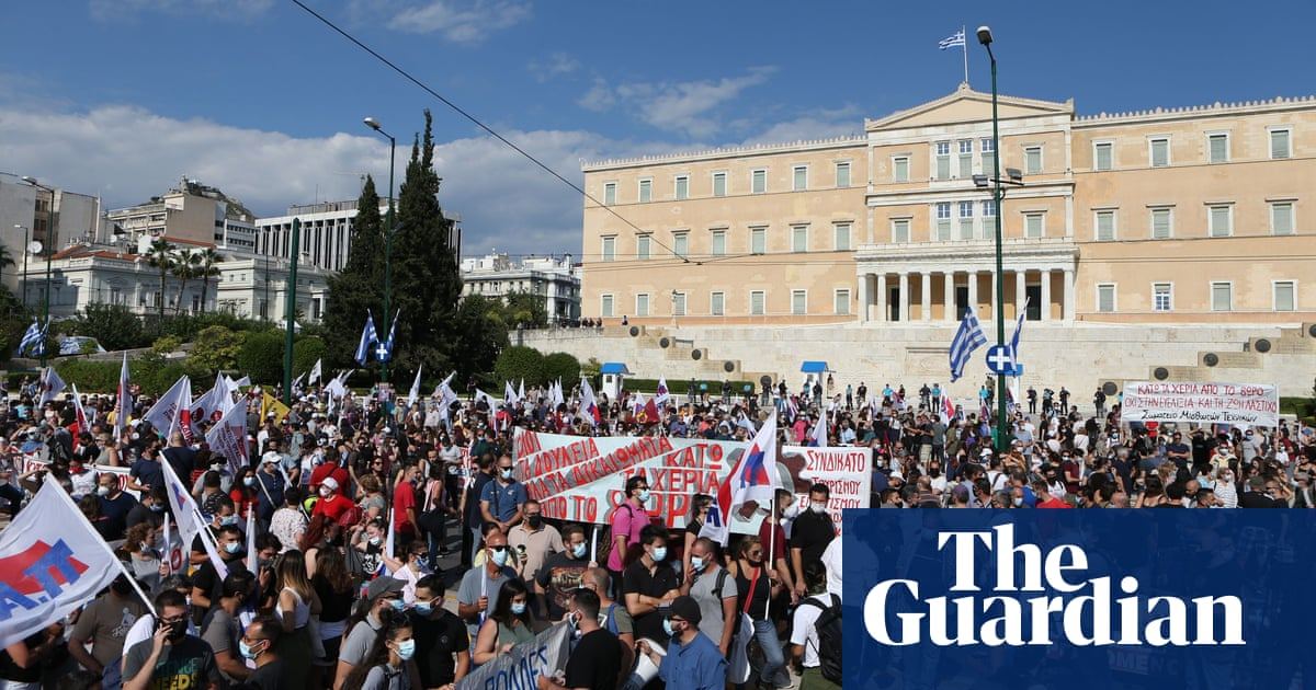 Controversial new labour laws set to shake up working life in Greece