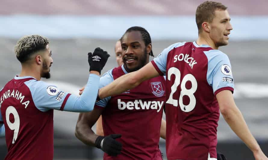 Michail Antonio's early strike sunk Burnley.
