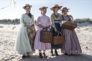 Emma Watson, Florence Pugh, Saoirse Ronan and Eliza Scanlen.
