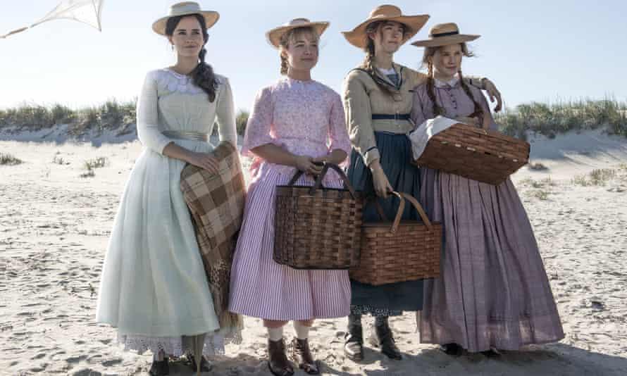 Emma Watson, Florence Pugh, Saoirse Ronan and Eliza Scanlen in Greta Gerwig's film Little Women