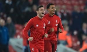 Andrew Robertson và Trent Alexander-Arnold dẫn dắt Liverpool từ cánh