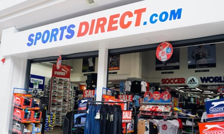 A Sports Direct store at Merry Hill shopping centre near Dudley in the West Midlands.