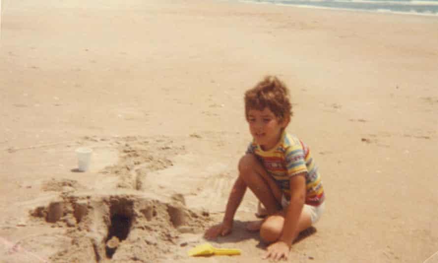 Elan Anthony as a child