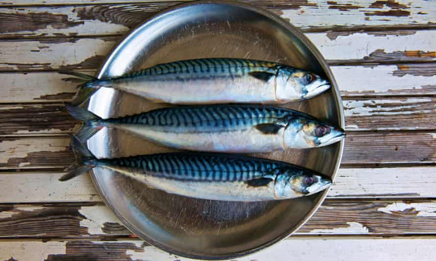 Oily fish such as mackerel is good for heart health.