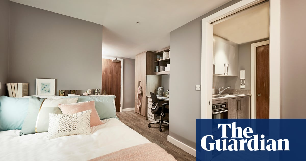 5f937d32b6c Chandeliers, cinema and 24/7 gym – student digs at up to £19k a year ...