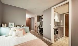 Luxury student accommodation Nottingham.