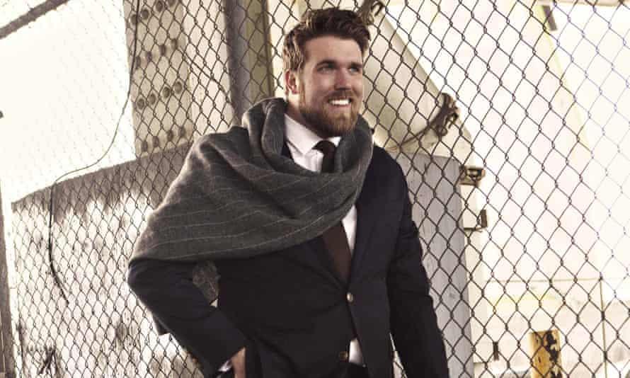 Plus-size model Zach Miko