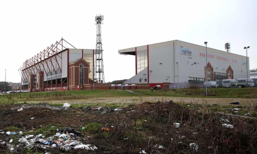 Barnsley's Oakwell ground