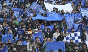 Fans of Esteghlal