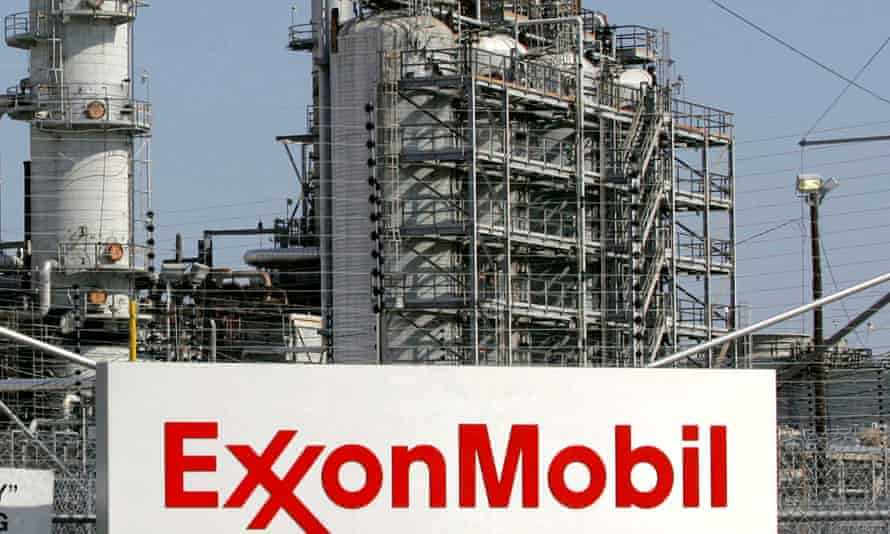 Exxon Mobil refinery in Baytown, Texas.