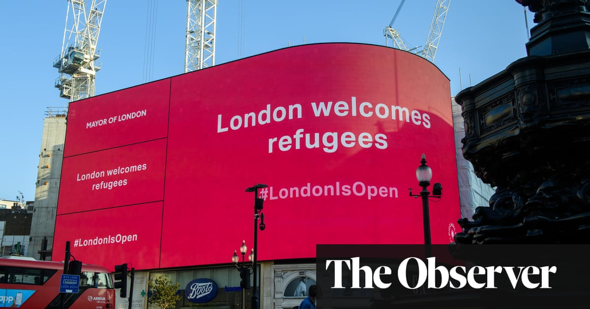 A friend in need: volunteers rush to help refugees feel at home in UK