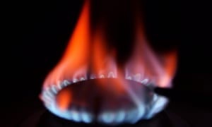 a burning gas ring