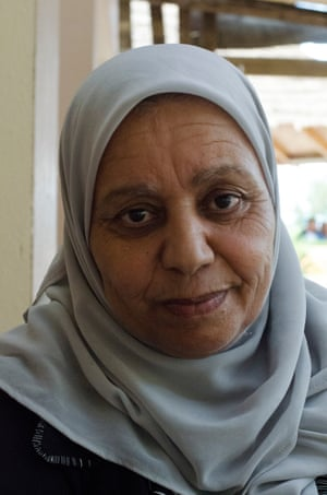 Retired vet Nejia Ben Zeid is president of the local Acacias for All cooperative in Zaghouan