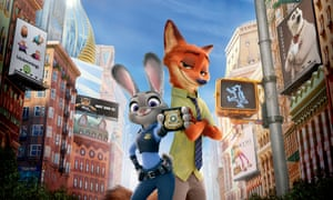 Still from the film Zootropolis