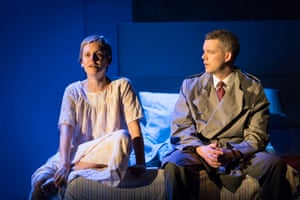 Denise Gough plays Joseph's wife, Harper, who struggles with addiction