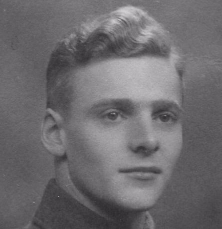 Harry Read pictured in June 1943, aged 19.