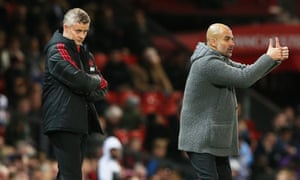 Ole Gunnar Solskjær's appointment was a nod to United's glorious past but across town at Manchester City Pep Guardiola and co have raised the bar.