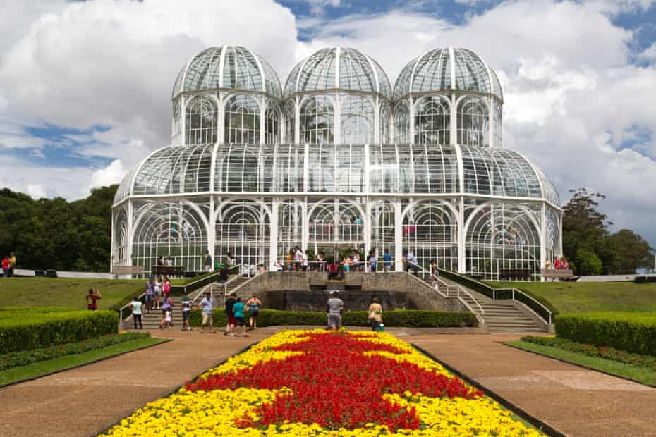 Botanical gardens in Curitiba