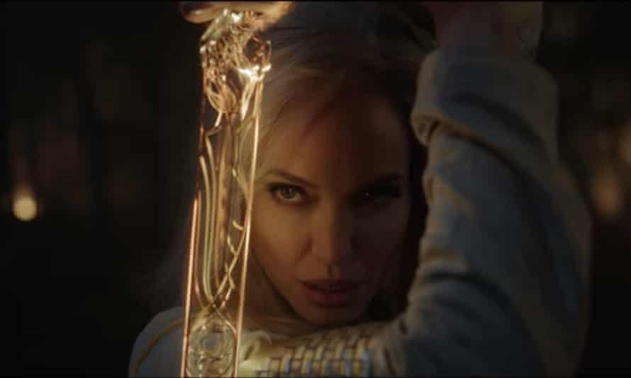 Jolie in Eternals.