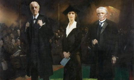 The Introduction of Lady Astor As the First Woman Member of Parliament in 1919, by Charles Sims.