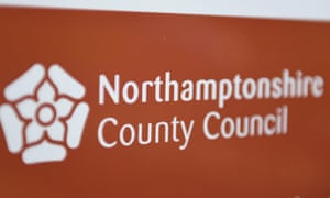 Northamptonshire county council headquarters in Northampton