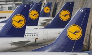 Lufthansa is engaged in a long-running pay dispute with pilots.
